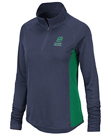 Colosseum Women's Notre Dame Fighting Irish Albi Quarter-Zip Pullover
