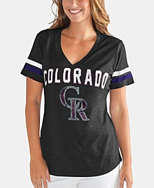Women's Colorado Rockies Rounding the Bases T-Shirt