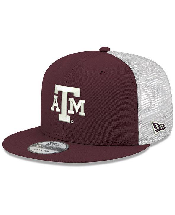 New Era Texas A&M Aggies TC Meshback Snapback Cap