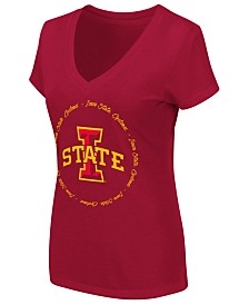Colosseum Women's Iowa State Cyclones Dual Blend Script T-Shirt