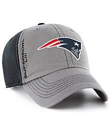 '47 Brand New England Patriots Super Bowl LIII Climb CLEAN UP Straoback Cap