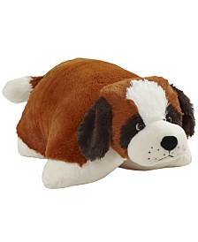 Pillow Pets Signature St. Bernard Stuffed Animal Plush Toy