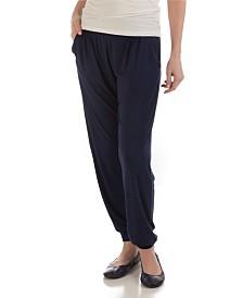 YALA Geena Lightweight Fold-over Waist Viscose from Bamboo Jogger Lounge Pant