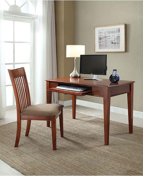 Acme Furniture Venetia 2-Piece Desk and Chair