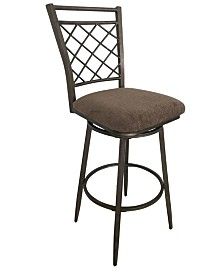 Aldric Bar Chair with Swivel, Set of 2