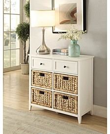 Flavius Console Table with 6 Drawers