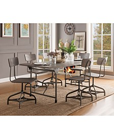 Jonquil Side Dining Chair with Swivel (Set of 2)