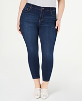 509e650434 Celebrity Pink Trendy Plus Size Skinny Ankle Jeans
