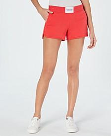 Smocked-Waistband Shorts