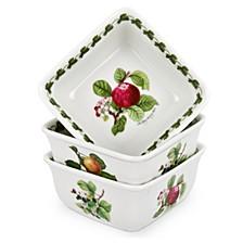 Pomona Set/3 Mini Square Bowls