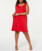 Plus Size Red Dress: Shop Plus Size Red Dress - Macy\'s