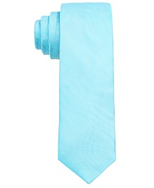 Lauren Ralph Lauren Big Boys Aqua Solid Silk Tie