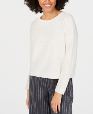 Eileen Fisher Knits ROUND-NECK KNIT TOP