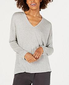 Eileen Fisher Silk & Cashmere-Blend V-Neck Sweater