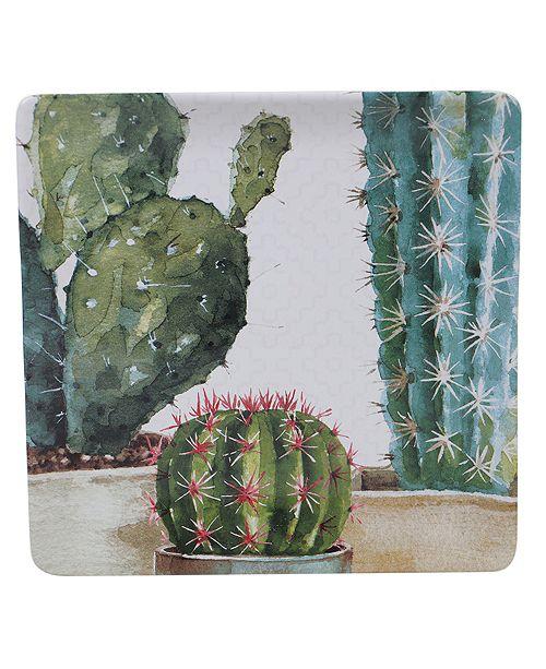 Certified International Cactus Verde Square Platter