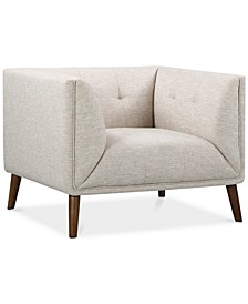 Hudson Button-Tufted Sofa Chair