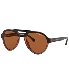 Sunglasses, EA4128 54