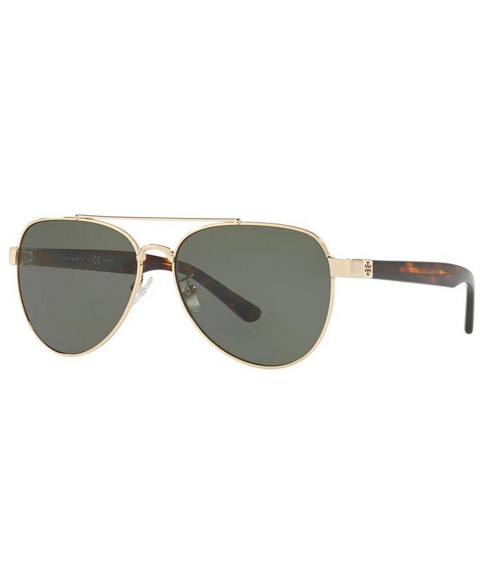 Tory Burch - Polarized Sunglasses, TY6070 57