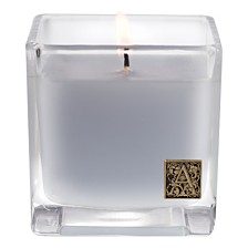 Aromatique Viola Driftwood Cube Glass Candle