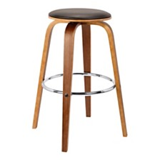 """Harbor 26"""" Swivel Backless Counter Stool, Quick Ship"""
