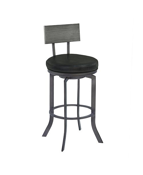 "Armen Living Ojai 30"" Swivel Barstool"