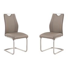 Bravo Dining Chair (Set of 2), Quick Ship
