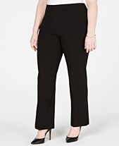 3a0aa71385a JM Collection Plus Size Pull-On Pants