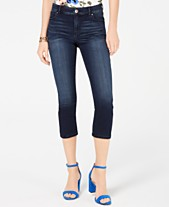 4a4a4d7b08 I.N.C. INCFinity Stretch Cropped Jeans in Curvy, Created for Macy's