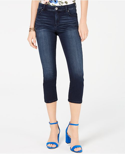 INC International Concepts INC INCFinity Stretch Cropped Jeans, Created for Macy's