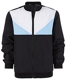 Ideology Big Boys Colorblocked Windbreaker Jacket, Created for Macy's
