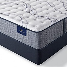 "Perfect Sleeper Trelleburg II 12"" Luxury Firm Mattress Set - Full"