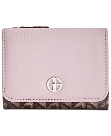 Giani Bernini Block Signature Trifold Wallet, Created for Macy's