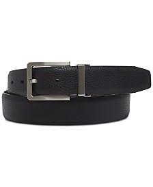 Ryan Seacrest Distinction™ Men's Reversible Dress Belt, Created for Macy's