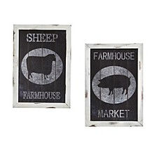 Farm to Table Wall Decor - Set of 2