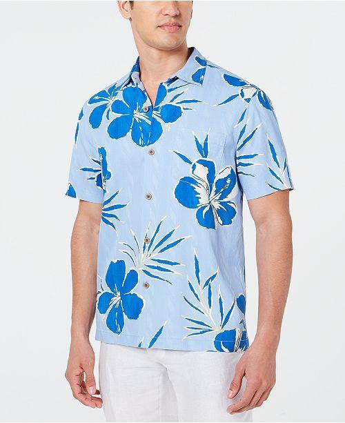 Tommy Bahama Men's Kona Hibiscus Silk Shirt