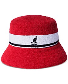 Kangol Men's Striped Bucket Hat