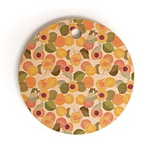 Georgia Peach I Round Cutting Board