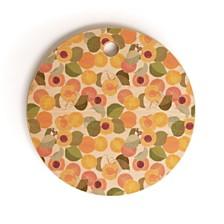Deny Designs Georgia Peach I Round Cutting Board