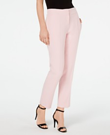 Kasper Petite Stretch Slim-Leg Pants