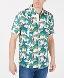 Tommy Bahama Men's Parrot Hawaiian Shirt