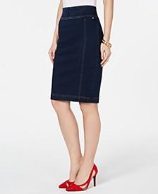 Denim Pencil Skirt, Created for Macy's