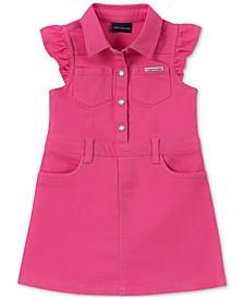 Toddler Girls Denim Shirtdress