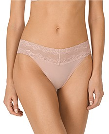 Bliss Perfection Lace-Waist Thong Underwear 750092