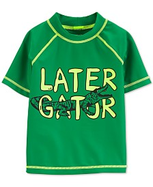 Carter's Toddler Boys Later Gator Rash Guard