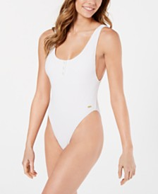 Roxy Juniors' Sun Memory Cheeky One-Piece Swimsuit