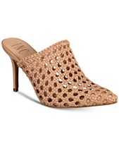 2f01d0d1d I.N.C. Women's Celestia Woven Leather Mules, Created For Macy's