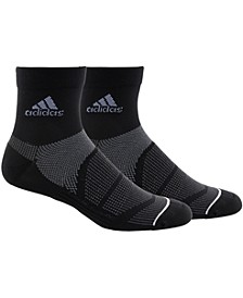 Men's 2-Pk. Prime Mesh III Quarter Socks