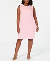 dca563370d33 Kasper Plus Size Stretch Crepe Sheath Dress
