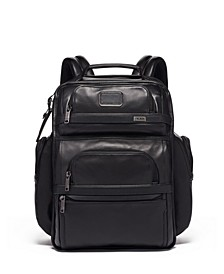 Alpha 3 Leather Brief Backack