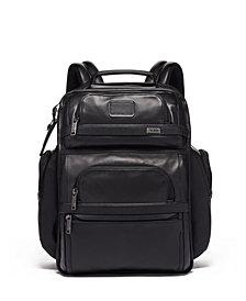 Tumi Alpha 3 Leather Brief Backack